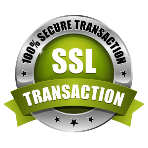 Our site and payment gateways are secure.